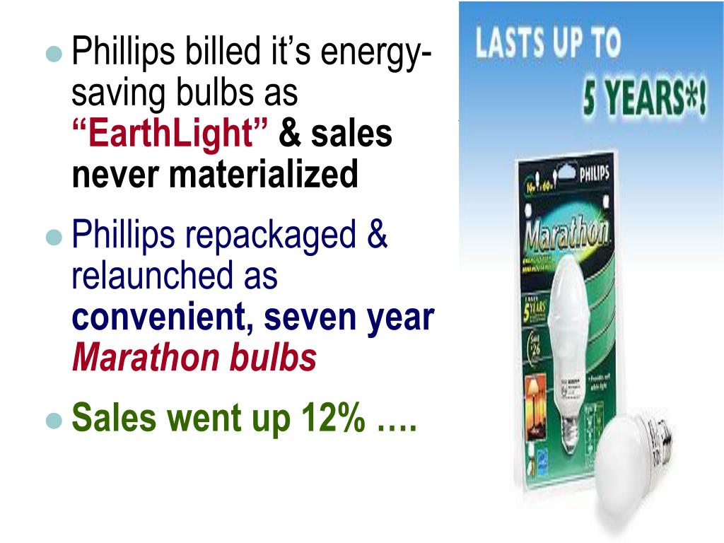 Phillips billed it's energy-saving bulbs as