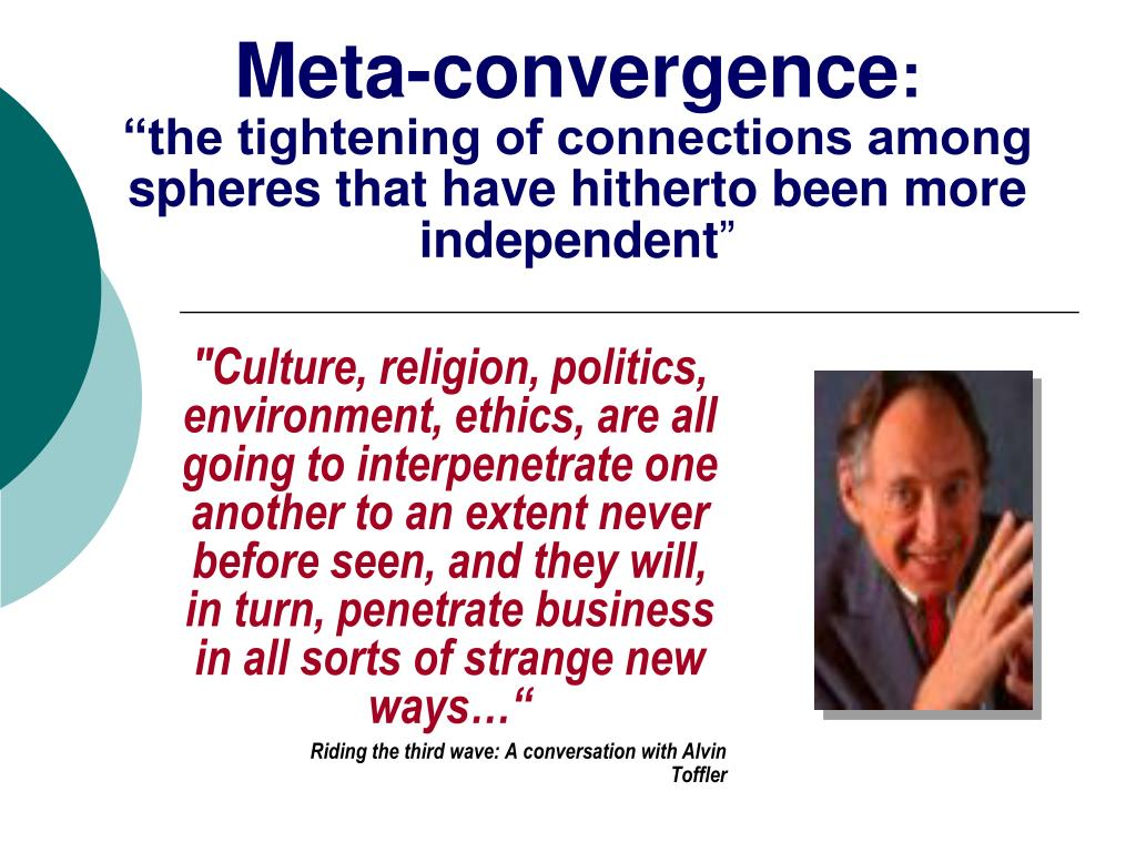 Meta-convergence