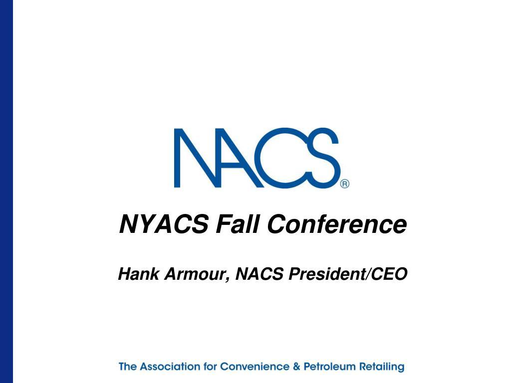 NYACS Fall Conference