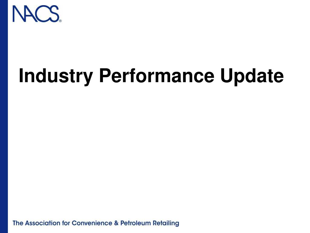 Industry Performance Update