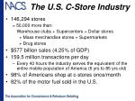 the u s c store industry