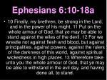ephesians 6 10 18a