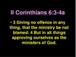 ii corinthians 6 3 4a