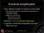 extremal simplification24