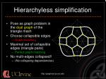 hierarchyless simplification11
