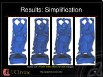 results simplification44