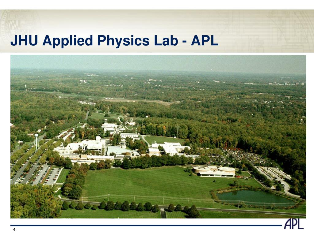 JHU Applied Physics Lab - APL