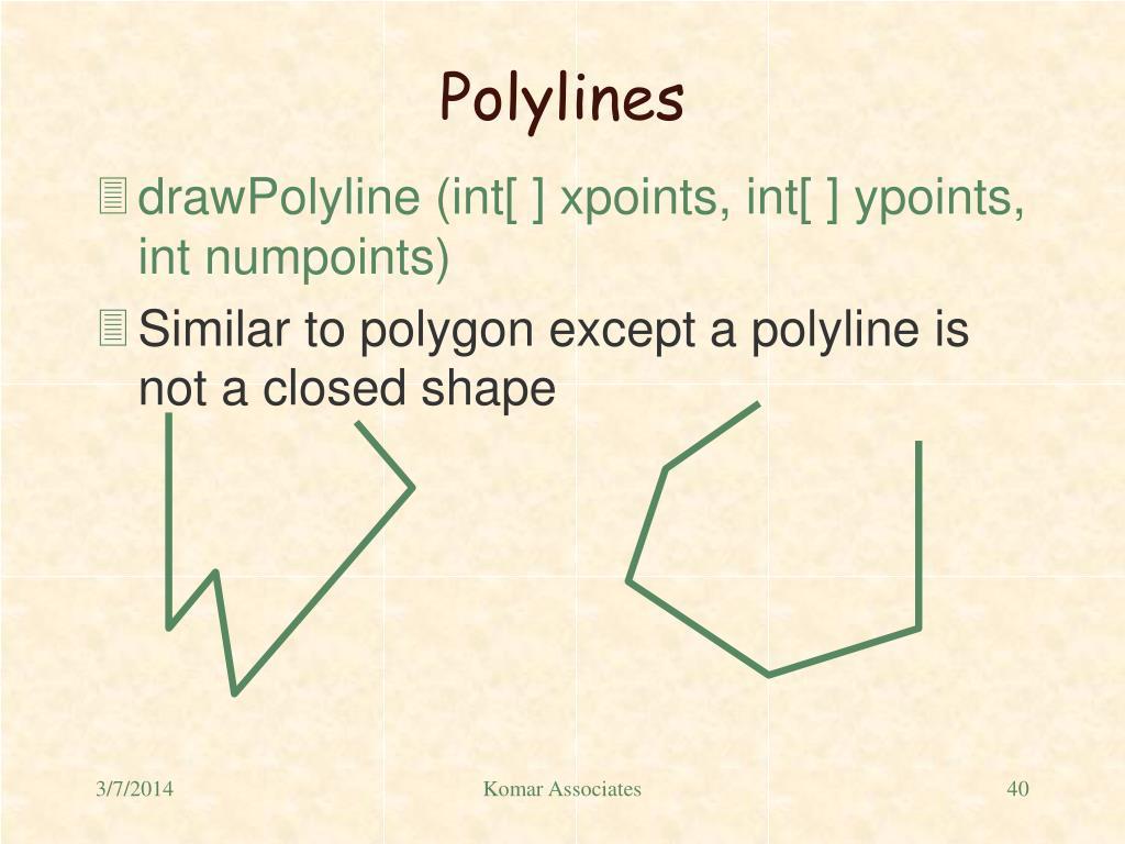 Polylines