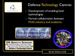 defence technology centres