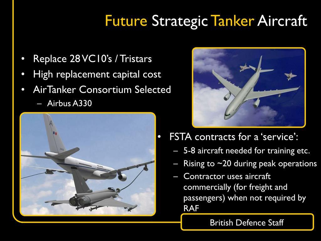 Replace 28 VC10's / Tristars