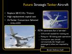 future strategic tanker aircraft