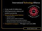 international technology alliance