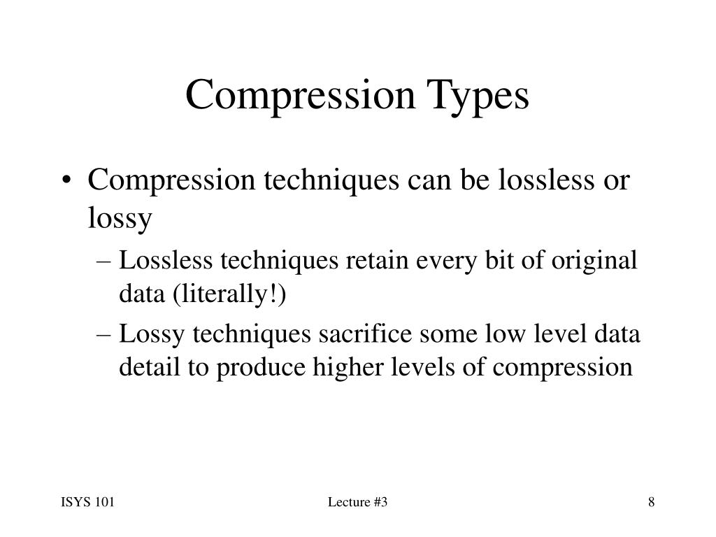 Compression Types
