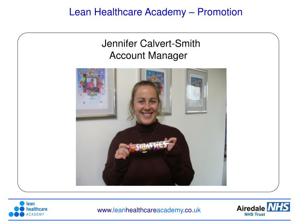 Lean Healthcare Academy – Promotion