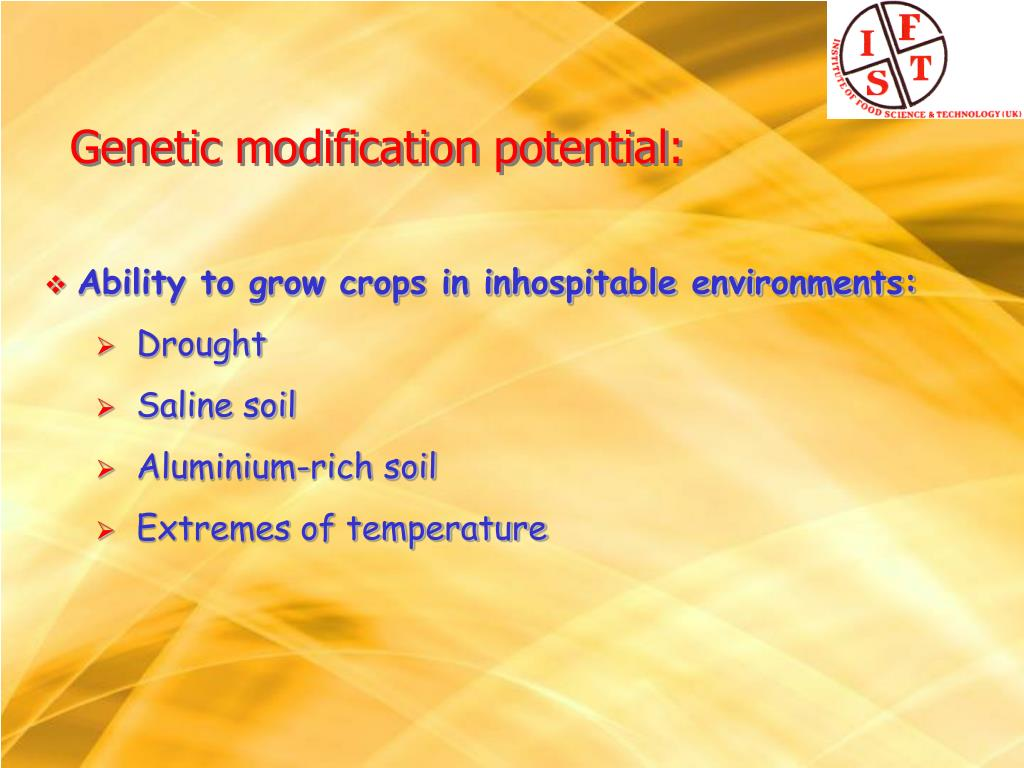 Ability to grow crops in inhospitable environments: