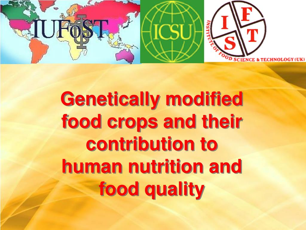 Genetically modified food crops and their contribution to