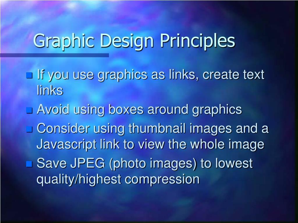 Graphic Design Principles