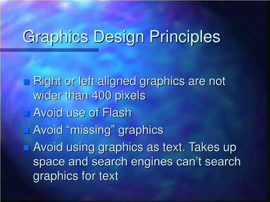 Graphics Design Principles