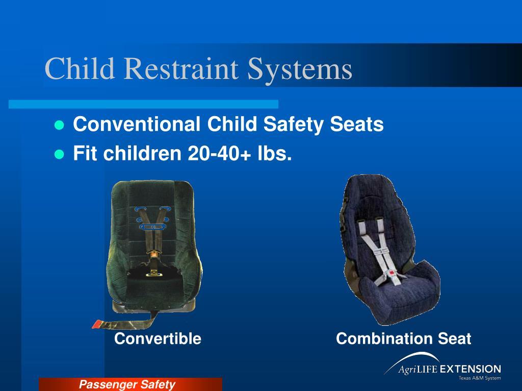 Child Restraint Systems
