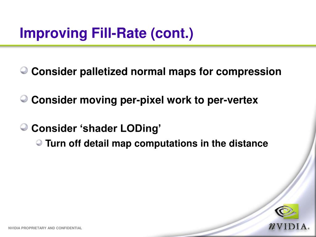 Improving Fill-Rate (cont.)