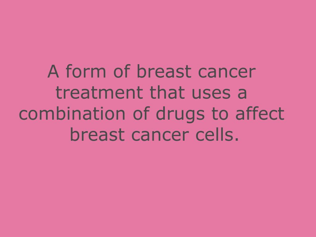 A form of breast cancer