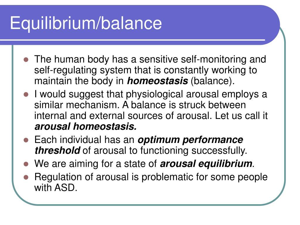 Equilibrium/balance