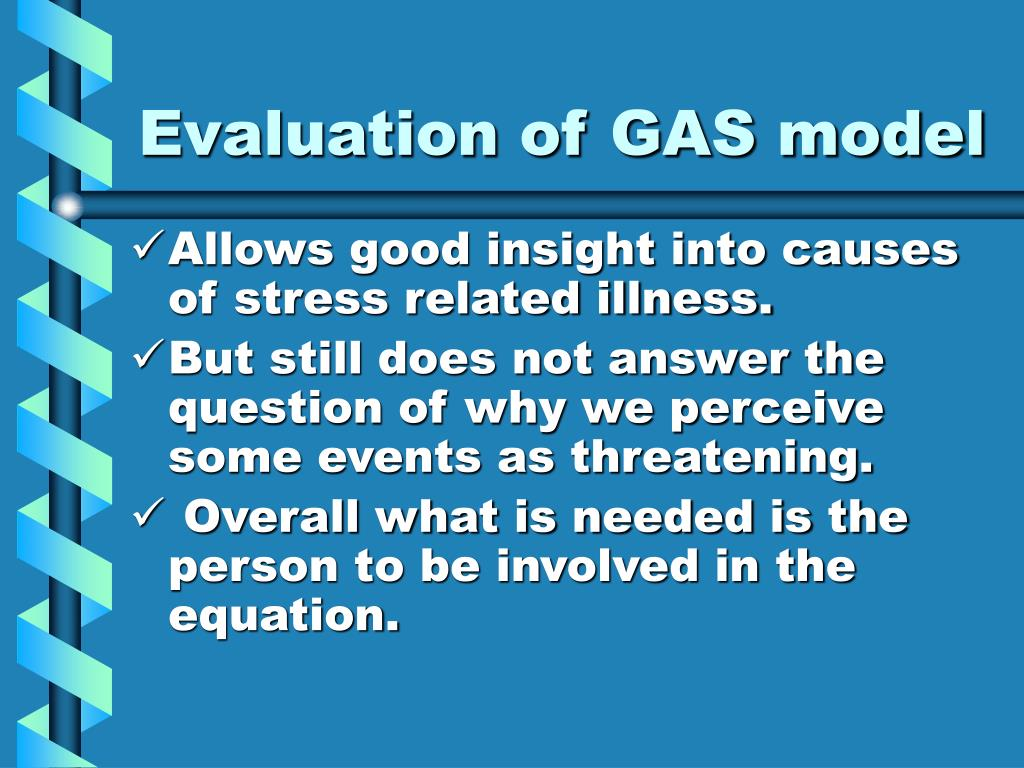 Evaluation of GAS model