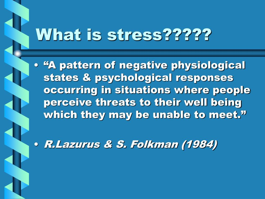 What is stress?????