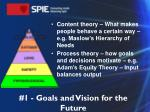 1 goals and vision for the future