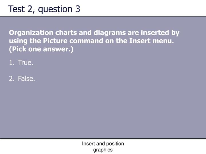 Test 2, question 3