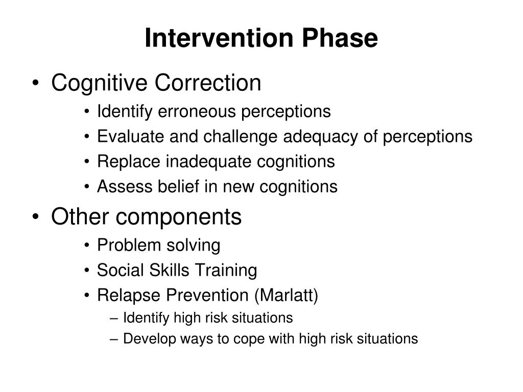 Intervention Phase