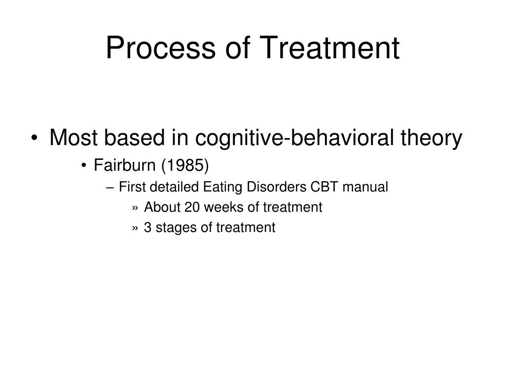 Process of Treatment