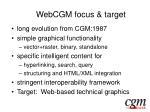 webcgm focus target