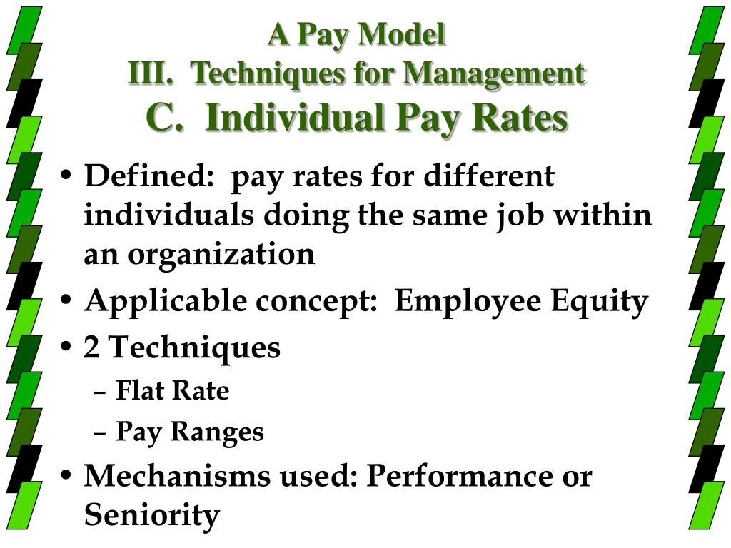 A Pay Model