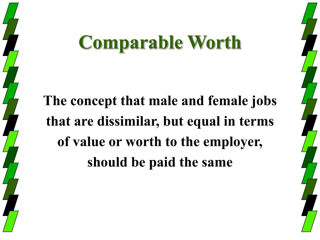 Comparable Worth