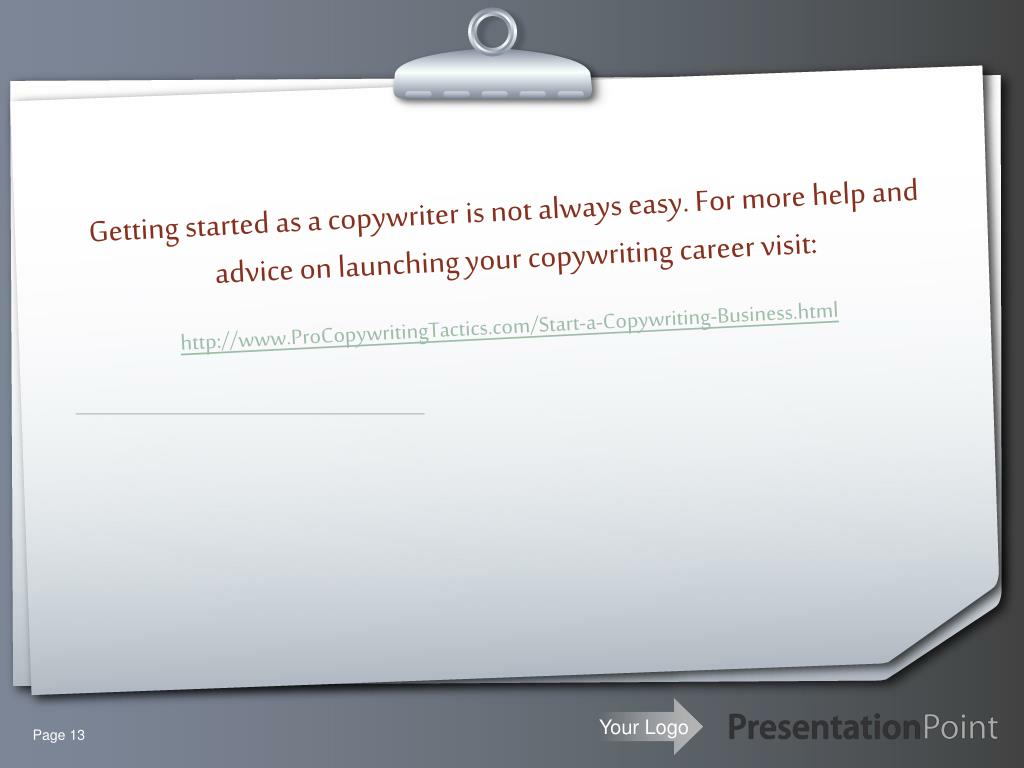 Getting started as a copywriter is not always easy. For more help and advice on launching your copywriting career
