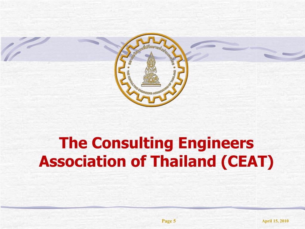 The Consulting Engineers Association of Thailand (CEAT)