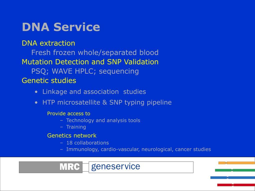 DNA Service