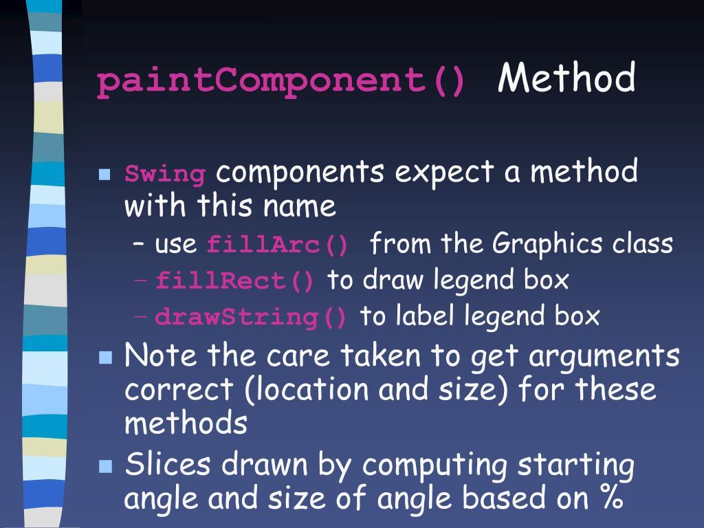 paintComponent()