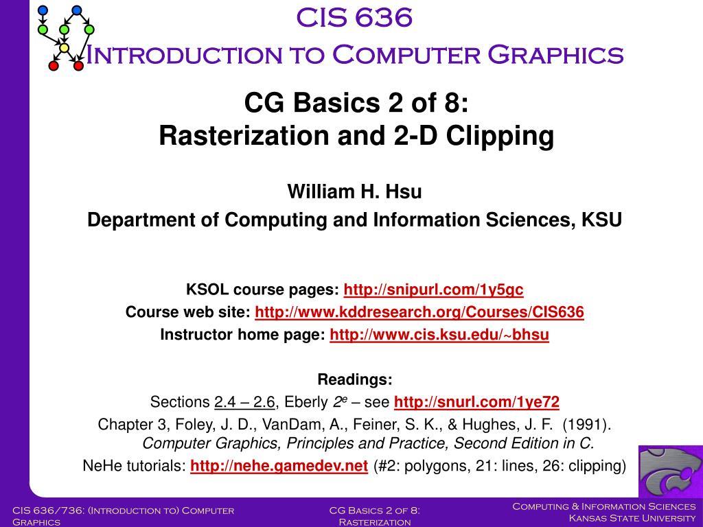 CIS 636