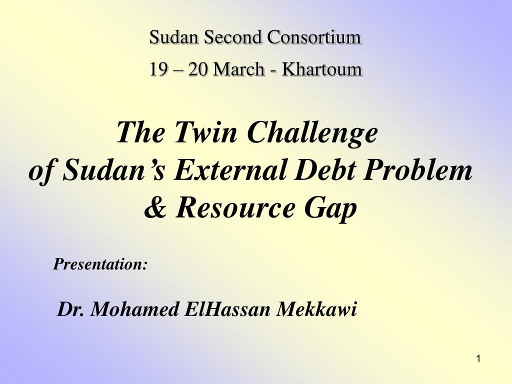 Sudan Second Consortium