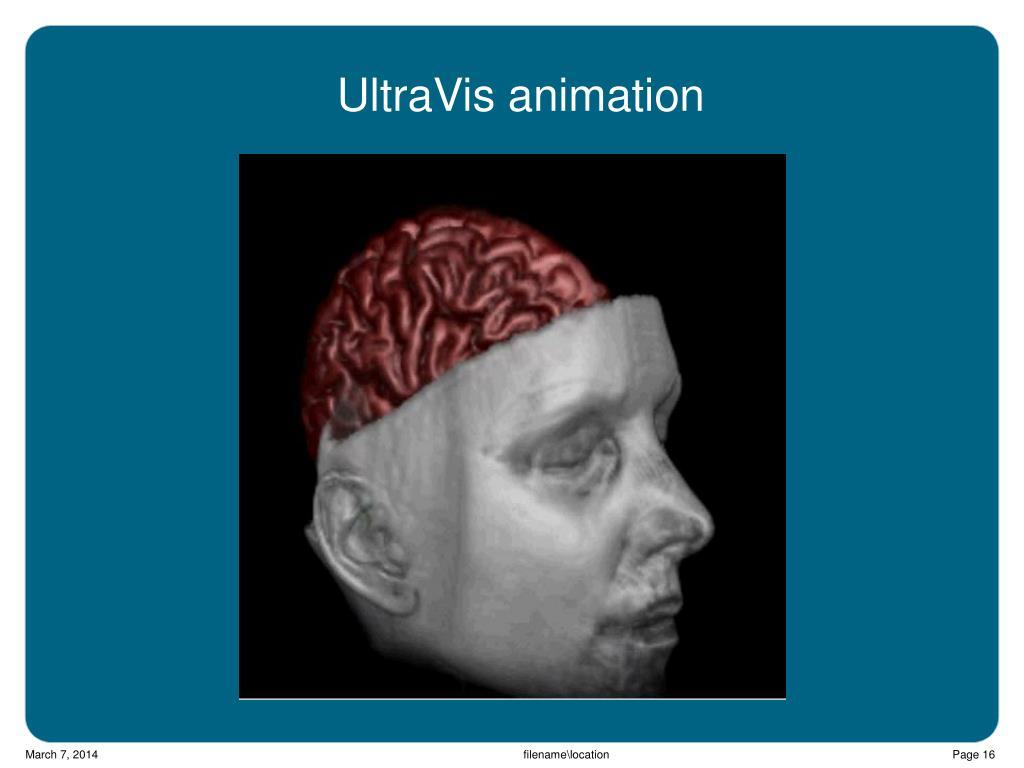 UltraVis animation