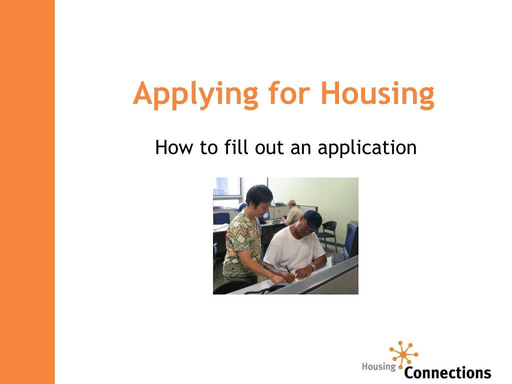 Applying for Housing