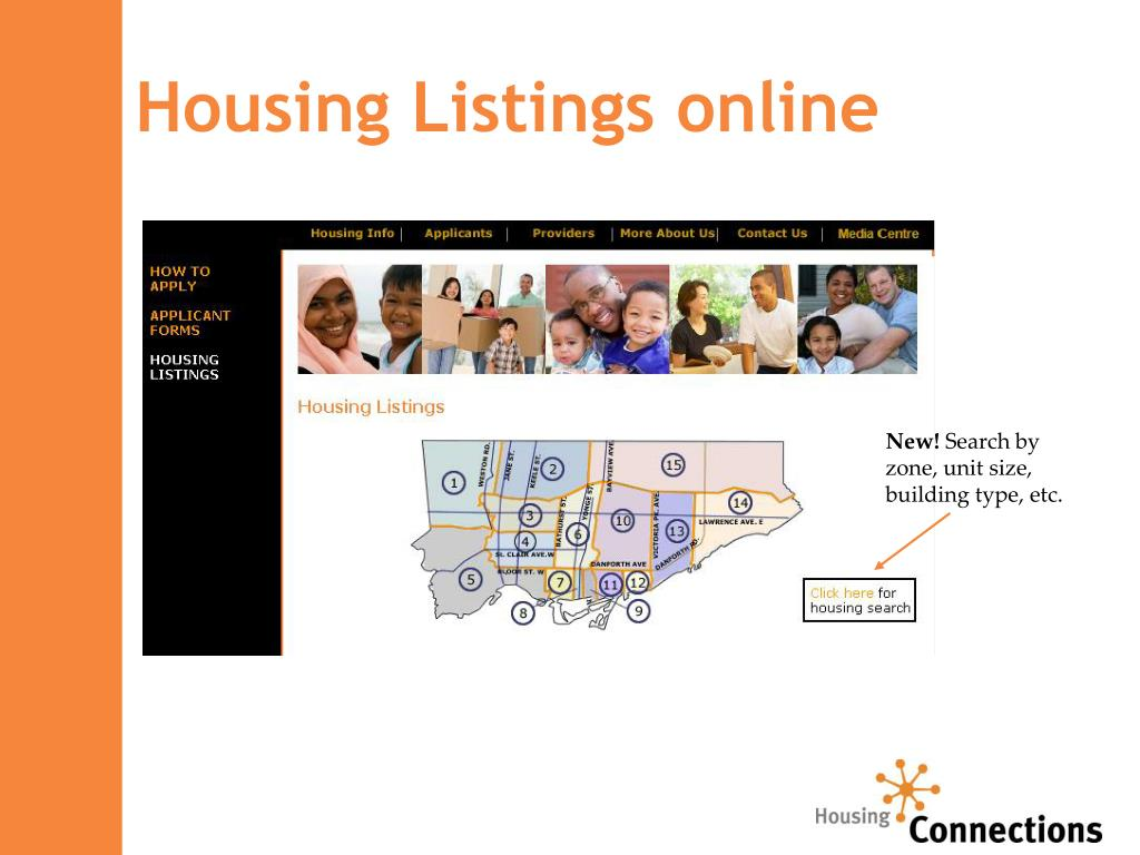 Housing Listings online