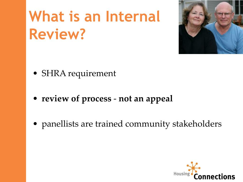 What is an Internal              Review?