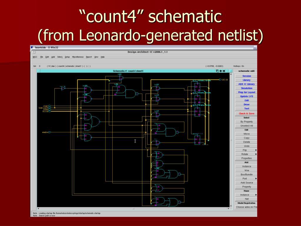 """""""count4"""" schematic"""