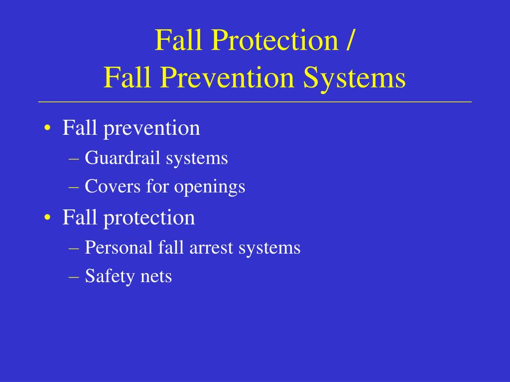 Fall Protection /