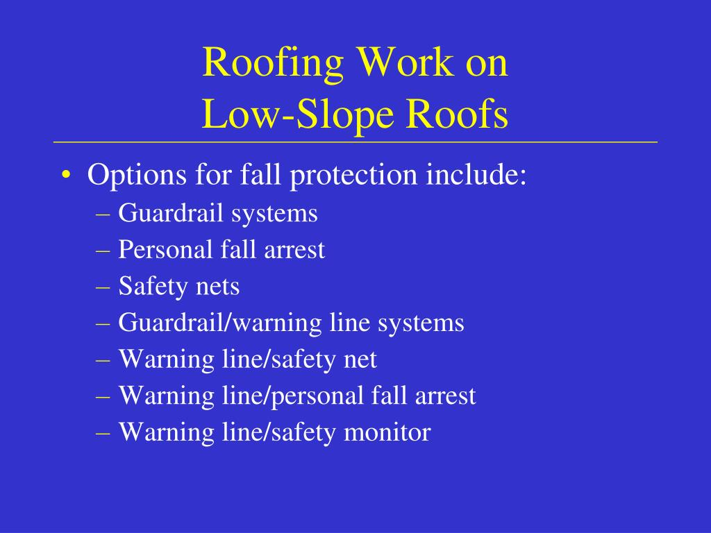 Roofing Work on