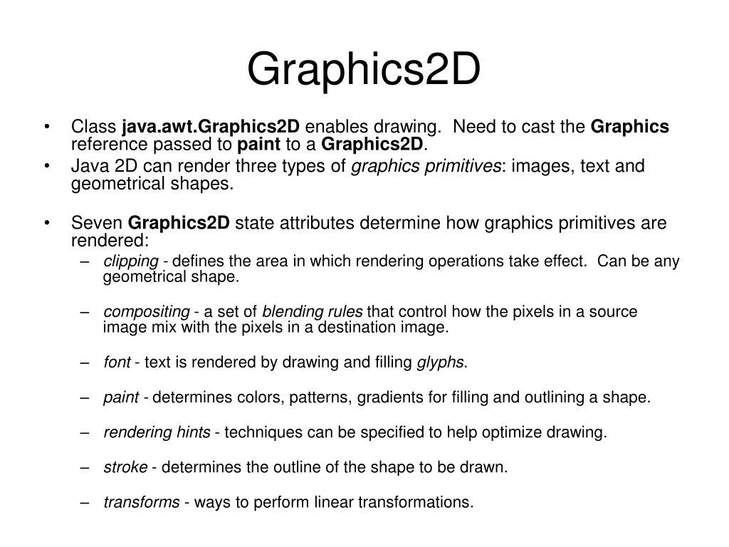 Graphics2D