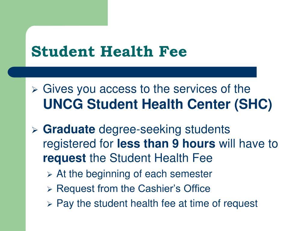 Student Health Fee